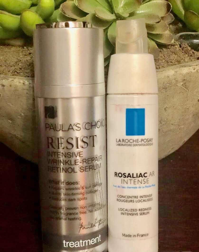 best anti aging serum for rosacea skin