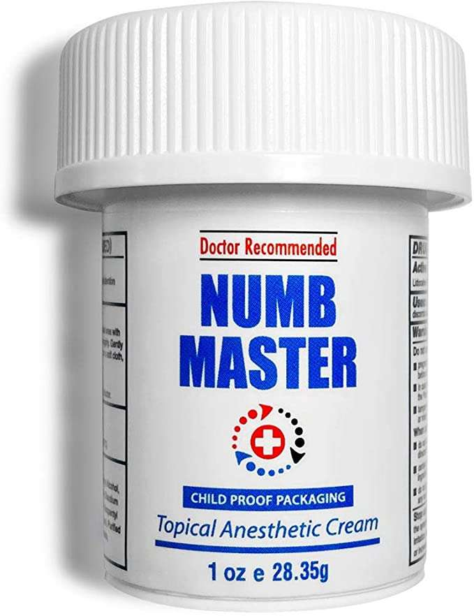 numb master cream package