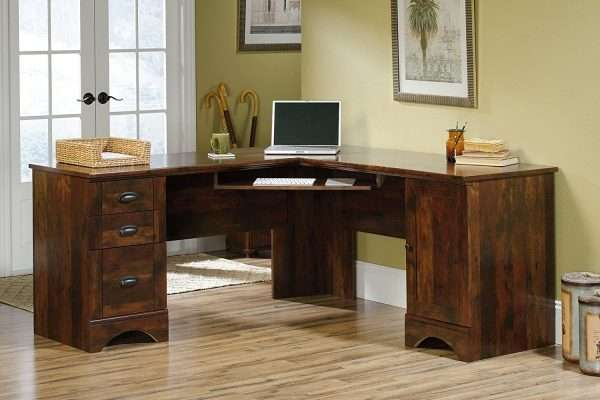 wood executive desk